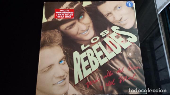 LP LOS REBELDES: MÁS ALLÁ DEL BIEN Y DEL MAL (Música - Discos - LP Vinilo - Grupos Españoles de los 90 a la actualidad)