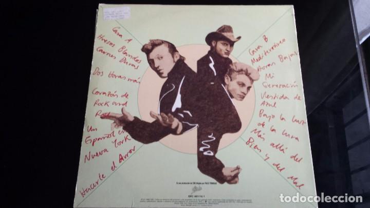 Discos de vinilo: LP LOS REBELDES: MÁS ALLÁ DEL BIEN Y DEL MAL - Foto 2 - 97142019
