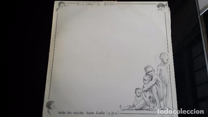 LP GLUTAMATO YEYE: TODOS LOS NEGRITOS TIENEN AMBRE Y FRIO (Música - Discos - LP Vinilo - Grupos Españoles de los 70 y 80)