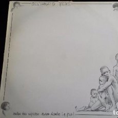 Discos de vinilo: LP GLUTAMATO YEYE: TODOS LOS NEGRITOS TIENEN AMBRE Y FRIO. Lote 97142551