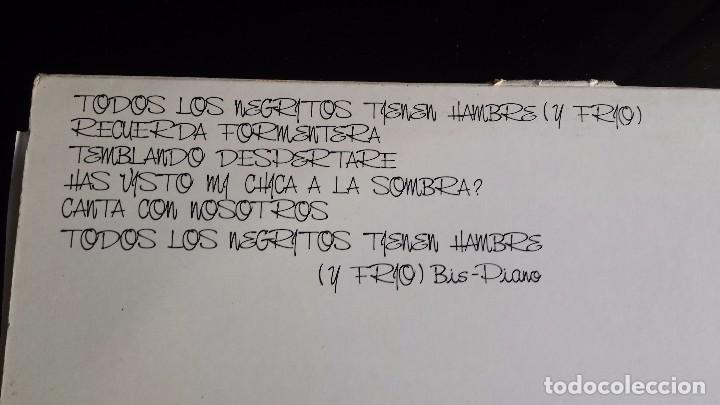 Discos de vinilo: LP GLUTAMATO YEYE: TODOS LOS NEGRITOS TIENEN AMBRE Y FRIO - Foto 3 - 97142551