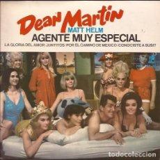 Discos de vinilo: EP- DEAN MARTIN MATT HELM AGENTE MUY ESPECIAL REPRISE 29747 SPAIN 1966. Lote 97145923