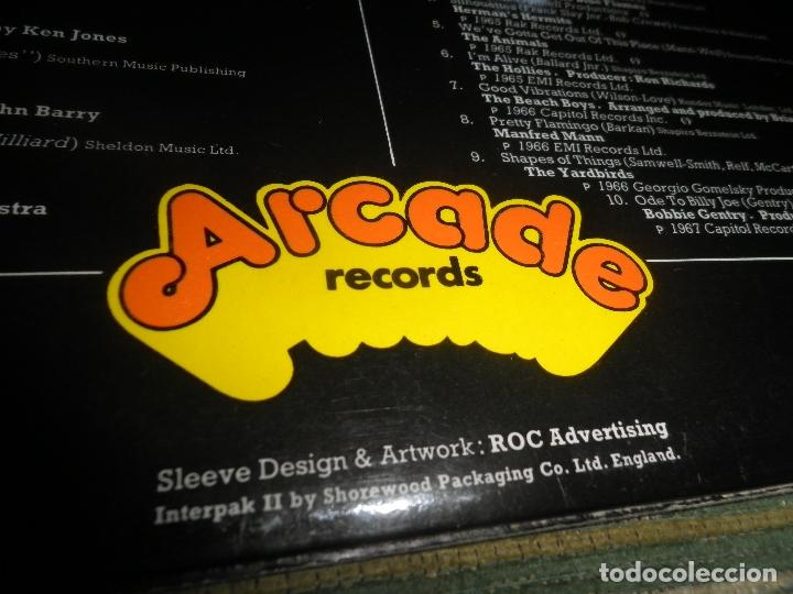 Discos de vinilo: ALAN FREEMAN´S HISTORY OF POP DOBLE LP - EDICION FRANCESA - ARCADE 1974 - GATEFOLD COVER - - Foto 9 - 97146367