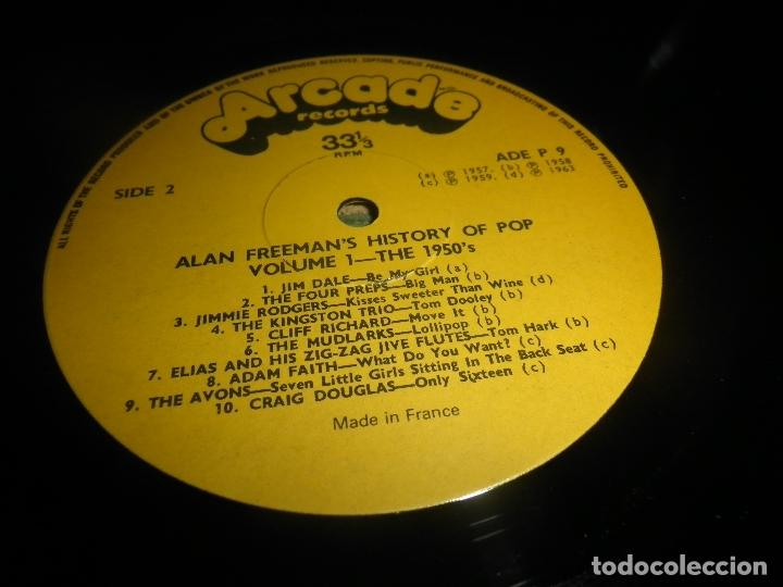 Discos de vinilo: ALAN FREEMAN´S HISTORY OF POP DOBLE LP - EDICION FRANCESA - ARCADE 1974 - GATEFOLD COVER - - Foto 22 - 97146367