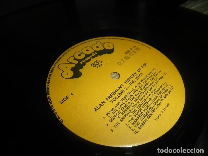Discos de vinilo: ALAN FREEMAN´S HISTORY OF POP DOBLE LP - EDICION FRANCESA - ARCADE 1974 - GATEFOLD COVER - - Foto 28 - 97146367