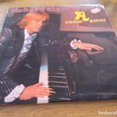 Discos de vinilo: RICHARD CLAYDERMAN. A COMO AMOR.. Lote 97153623