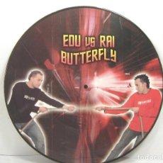 Disques de vinyle: DISCO LP PICTURE- EDU VS RAI BUTTERFLY - VINILO . Lote 97154131