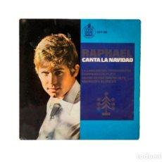 Discos de vinilo: EP. RAPHAEL CANTA LA NAVIDAD. RAPHAEL. (G/VG). Lote 97091647