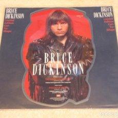 Discos de vinilo: BRUCE DICKINSON ''LIMITED EDITION PICTURE DISC'' ( TATTOOED MILLIONAIRE - BALLAD OF MUTT ) UK-1990. Lote 97185567