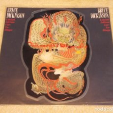 Disques de vinyle: BRUCE DICKINSON ''LIMITED EDITION PICTURE DISC'' ( TATTOOED MILLIONAIRE - BALLAD OF MUTT ) UK-1990. Lote 97185567