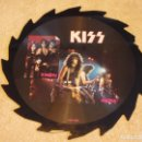 Discos de vinilo: KISS ''LIMITED EDITION PICTURE DISC'' ( THEN NOW ) ENGLAND-1988 LP33 TELL TALES. Lote 97186475