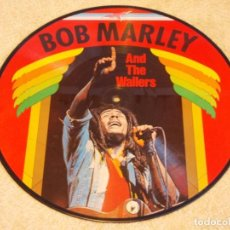 Discos de vinilo: BOB MARLEY AND THE WAILERS ''PICTURE DISC'' ( BOB MARLEY AND THE WAILERS ) DENMARK LP33. Lote 97187699