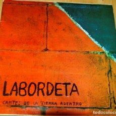 Discos de vinilo: LABORDETA. CANTES DE LA TIERRA ADENTRO. Lote 97196231