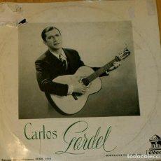 Discos de vinilo: CARLOS GARDEL. ODEON 1956. RARO. Lote 97206579