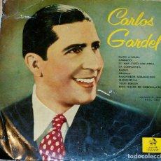 Discos de vinilo: CARLOS GARDEL. ODEON. RARO. Lote 97206751