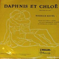 Discos de vinilo: DAPHNIS ET CHLOE. MAURICE RAVEL. Lote 97207043