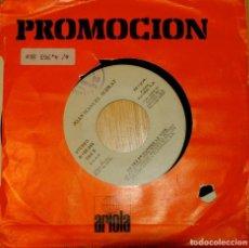 Discos de vinilo: JOAN MANUEL SERRAT. SINGLE PROMOCIÓN. Lote 97207915