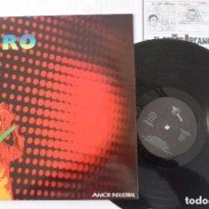 Discos de vinilo: DISCO LP VINILO AVIADOR DRO AMOR INDUSTRIAL. Lote 97208523