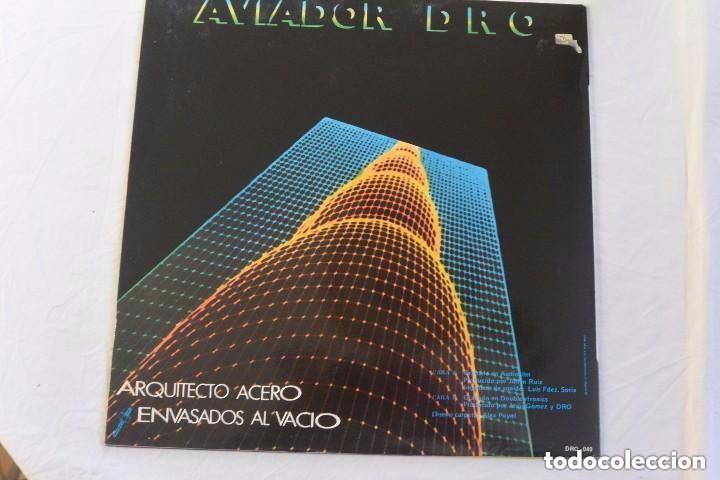 Discos de vinilo: DISCO LP VINILO AVIADOR DRO AMOR INDUSTRIAL - Foto 2 - 97208523