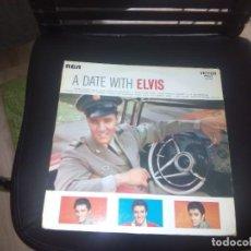 Discos de vinilo: A DATE WITH ELVIS PRESLEY / LP 33 RPM / RCA. Lote 97222519