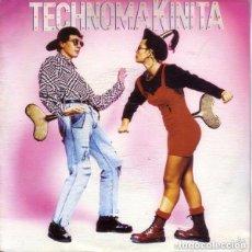 Discos de vinilo: TECHNOMAKINITA - SINGLE SIDED PROMO, MIXED SPAIN 1990. Lote 97222711
