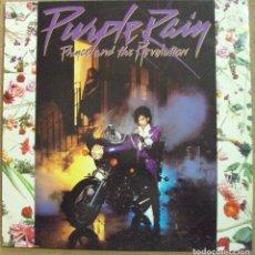 Discos de vinilo: PRINCE - PURPLE RAIN - WARNER ESPAÑA 1984, CON ENCARTE ORIGINAL . Lote 97224251