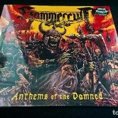 Discos de vinilo: MÚSICA LP HEAVY: HAMMERCULT ANTHEMS OF THE DAMNED LIMITED EDITION PRECINTADO VINYL. Lote 97226575