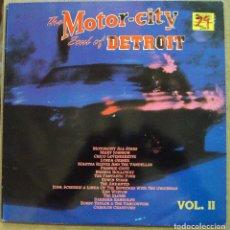 Discos de vinilo: MOTOR CITY, THE SOUL OF DETROIT VOL. 2 - DOBLE LP - DRO, 1991 . Lote 97226759