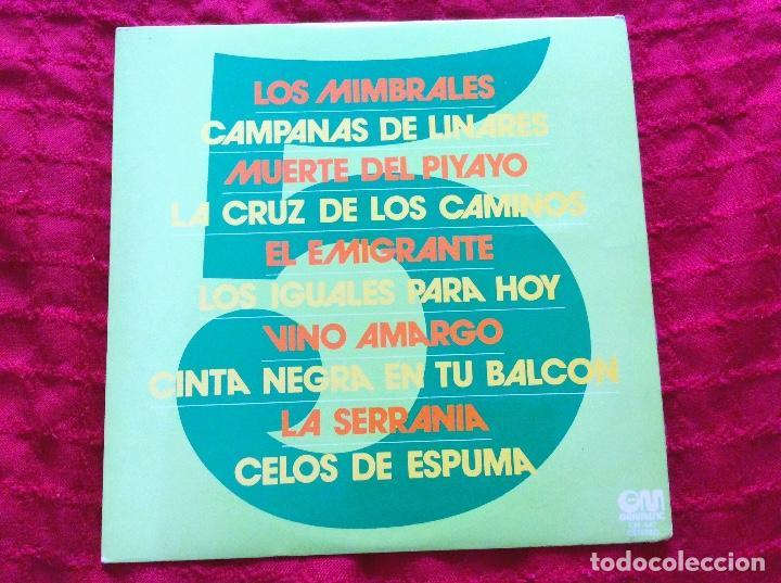 PADILLA, VALDERRAMA, MONTES RAYOS, OCHAITA, LAGAZA, SOLANO, CABELLO, FREIRE, MOLINA, ANTONIO ARENAS (Música - Discos de Vinilo - Maxi Singles - Flamenco, Canción española y Cuplé)