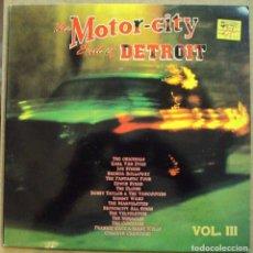 Discos de vinilo: MOTOR CITY, THE SOUL OF DETROIT VOL. 3 - DOBLE LP - DRO, 1991. Lote 97227023