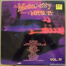 Discos de vinilo: MOTOR CITY, THE SOUL OF DETROIT VOL. 4 - DOBLE LP - DRO, 1991 . Lote 97227179