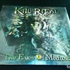 Discos de vinilo: MÚSICA LP HEAVY: KILL RITUAL THE EYES OF MEDUSA 2014 ZYX MUSIC PRECINTADO VINYL. Lote 97227255
