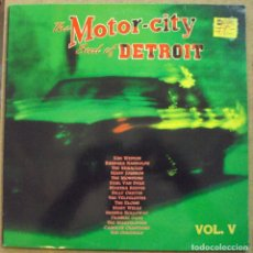 Discos de vinilo: MOTOR CITY, THE SOUL OF DETROIT VOL. 5 - DOBLE LP - DRO, 1991. Lote 97227379