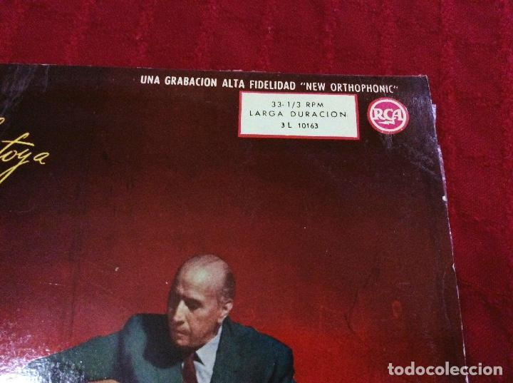 Discos de vinilo: Vinilo Carlos Montoya. 1961 - Foto 2 - 97243223