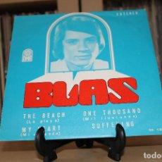 Discos de vinilo: BLAS -EP- THE BEACH + 3 OR SPAIN 70'S. Lote 97254991