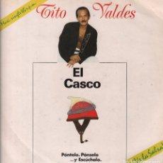 Discos de vinilo: TITO VALDES - EL CASCO , LP MAXISINGLE DE 1990 RF- 3882. Lote 97263251