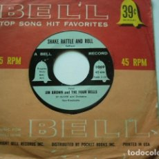 Discos de vinilo: JIM BROWN AND THE FOUR BELLS. MAMBO BABY. BELL RECORDS. . Lote 97273959