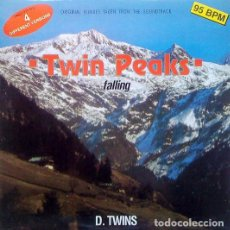 Discos de vinilo: D. TWINS - FALLING - ORIGINAL REMIXES TAKEN FROM THE SOUNDTRACK TWIN PEAKS - 1991 ITALY (4 VERS). Lote 97279267