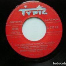Discos de vinilo: LOS CUBAZTECAS Y PANCHO CATANEO. NOTE METAS + 3. TYPIC. FRANCIA. VINILO EN EXCELENTE ESTADO.. Lote 97280311