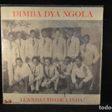 Discos de vinilo: DIMBA DYA NGOLA - LUANDA CIDADE LINDA - LP. Lote 97285611
