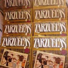 Discos de vinilo: COLECCION JOYAS MUSICALES DEL GENERO CHICO - ZARZUELA - 8 CAJAS CON 3 DISCOS CADA UNA (LEER +). Lote 97292923