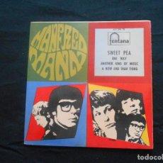 Discos de vinilo: MANFRED MANN // SWEET PEA + 3. Lote 97293435