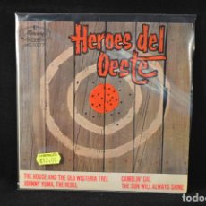 Discos de vinilo: HEROES DEL OESTE - THE HOUSE AND THE OLD WISTERIA TREE +3 - EP. Lote 97301959
