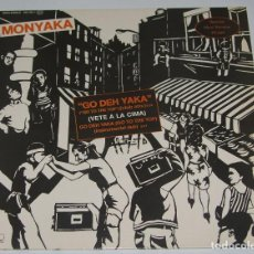 Discos de vinilo: MONYAKA - GO THE YAKA (GO TO THE TOP) - MAXI 1983. Lote 97310707
