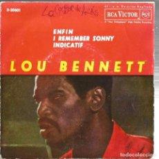 Discos de vinilo: EP LOU BENNETT ( HAMMOND JAZZ ) : ENFIN + 2 . Lote 97316439