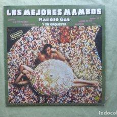 Discos de vinilo: MANOLO GAS Y SU ORQUESTA. LOS MEJORES MAMBOS. DIAPASON , 1980. ESPAÑA. LP VINILO. Lote 97319099