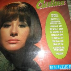 Discos de vinilo: CRISTINA - CRISTINA LP - ORIGINAL ESPAÑOL - BELTER RECORDS 1970 - MONOAURAL -. Lote 97319863