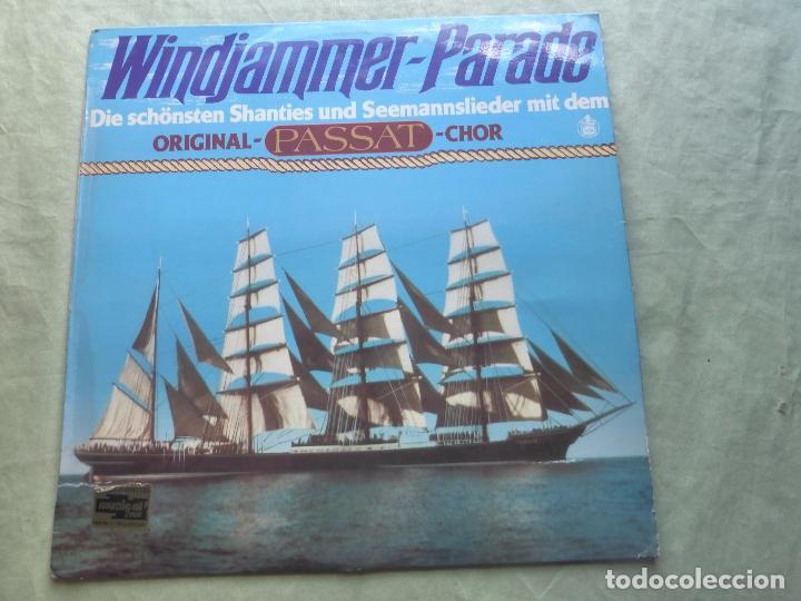 WINDJAMMER. PARADE. HISPAVOX, 1979. ESPAÑA. LP VINILO (Música - Discos - LP Vinilo - Étnicas y Músicas del Mundo)