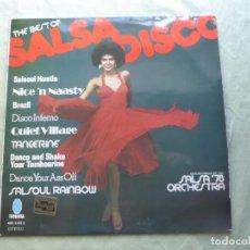 Discos de vinilo: SALSA´78 ORCHESTRA. THE BEST OF SALSA DISCO. TURQUESA, 1978. ESPAÑA. LP VINILO. Lote 97320563