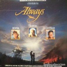 Discos de vinilo: ALWAYS - LP BANDA SONORA EDICION U.S.A. BSO - JOHN WILLIAMS - STEVEN SPIELBERG. Lote 97322231